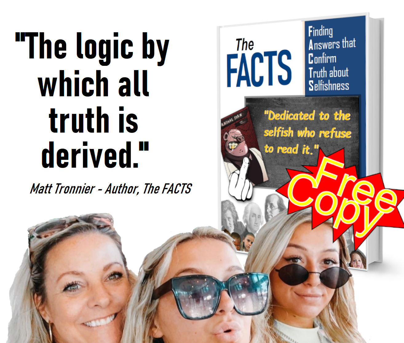 Book with girsl - logic by which FREE COPY